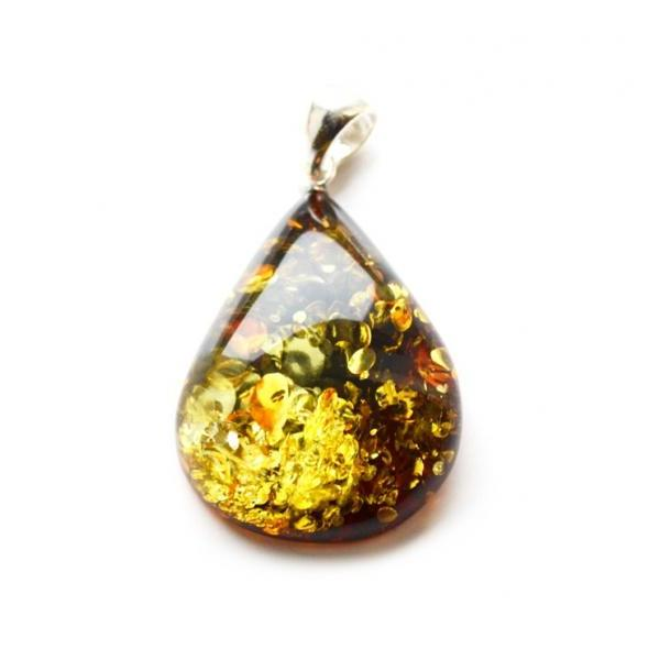 Baltic amber pendant jewelry shop, green amber pendant, natural Baltic amber, gift jewelry shop, Baltic amber jewelry, 1168